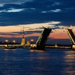 St. Petersburg, Russia in a white night